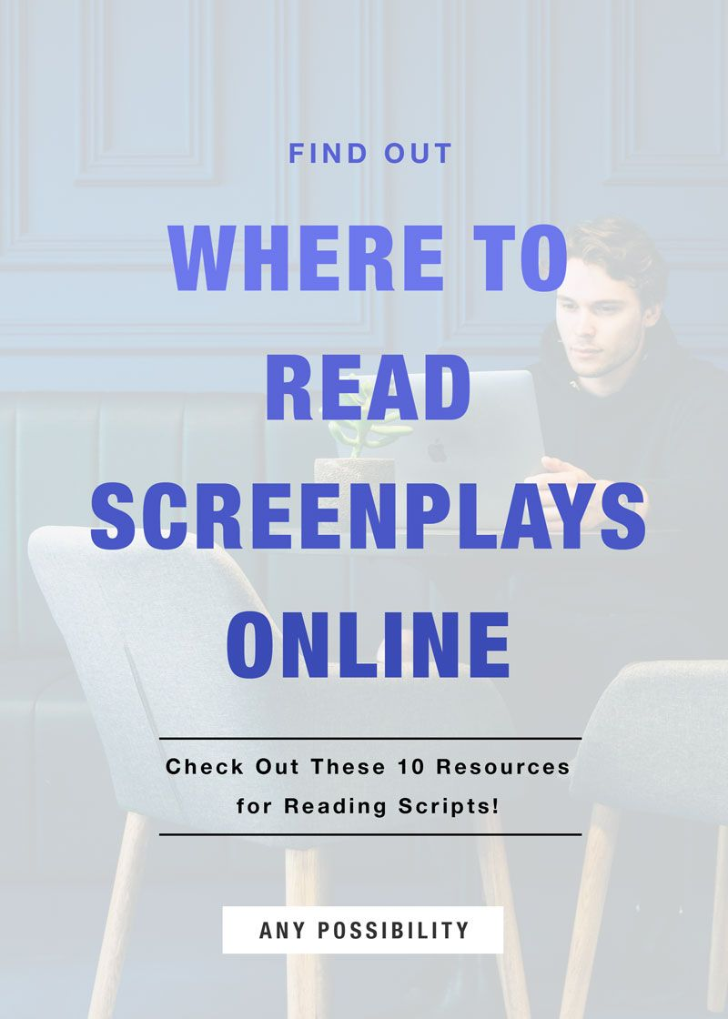 10 resources to read screenplays online for free pinterest