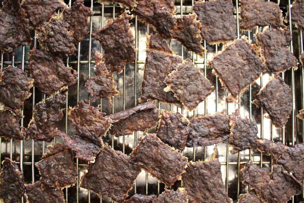 Homemade Beef Jerky For Dogs Recipe Homemade Beef Jerky Dog Recipes Dog Biscuits Homemade