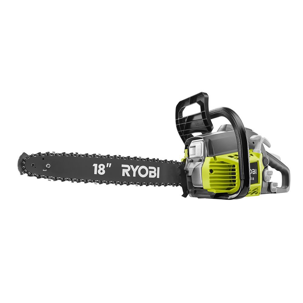 18 inch 38cc 2-Cycle Gas Chainsaw with Heavy Duty Case in 2019