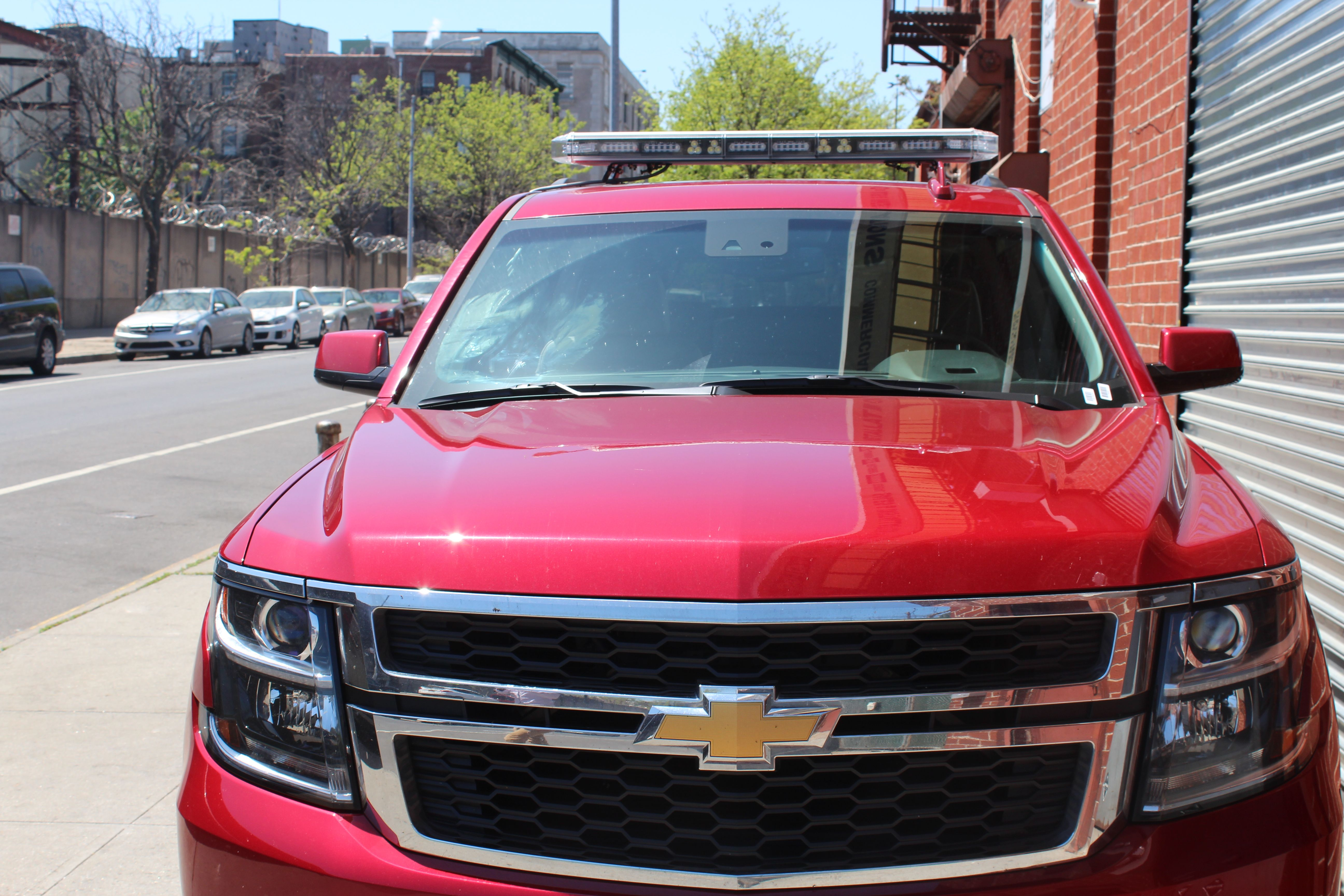Whacker challenger 50 led full size light bar ambulance brand new 2015 chevrolet suburban with a whacker challenger 50 led full size light bar aloadofball Gallery