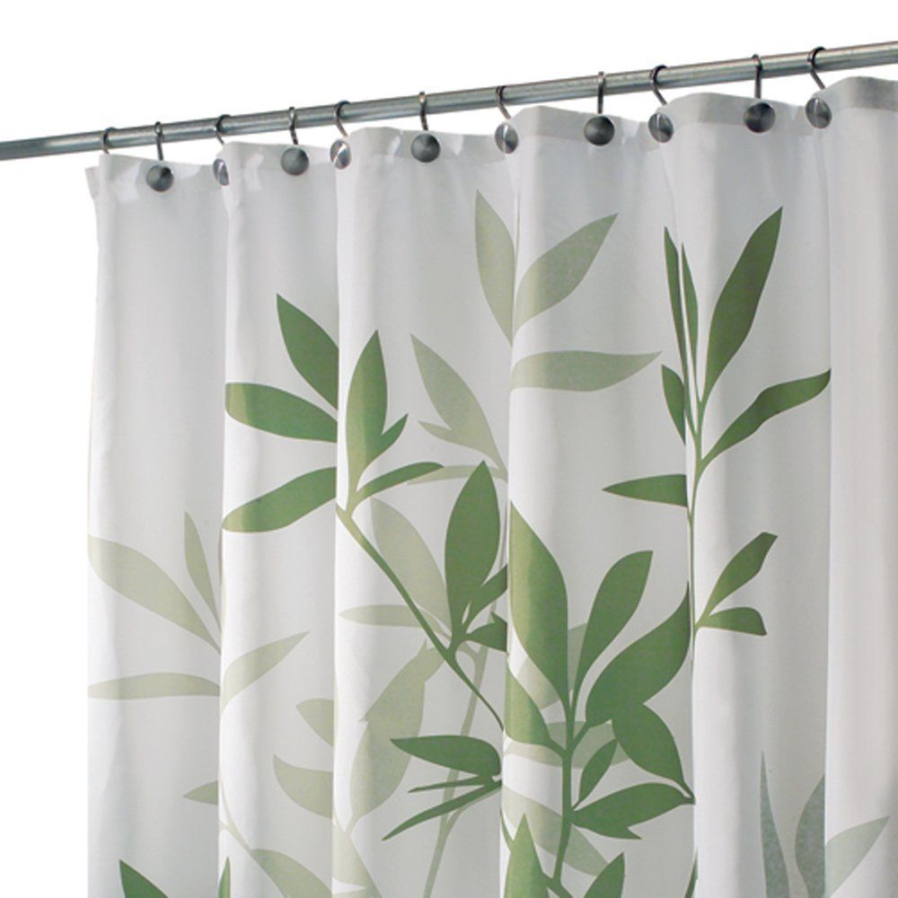 InterDesign Leaves Shower Curtain: Amazon.co.uk: Kitchen U0026 Home
