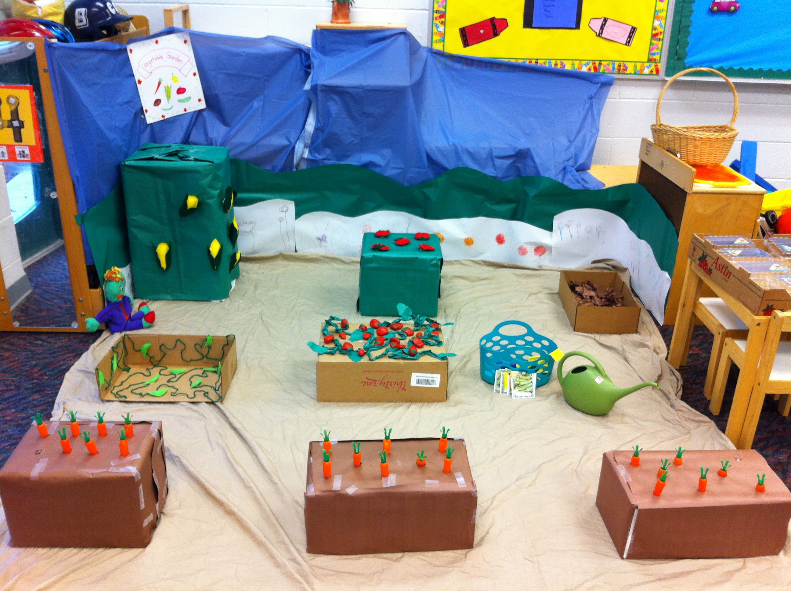 Dramatic Play Garden Farm Theme