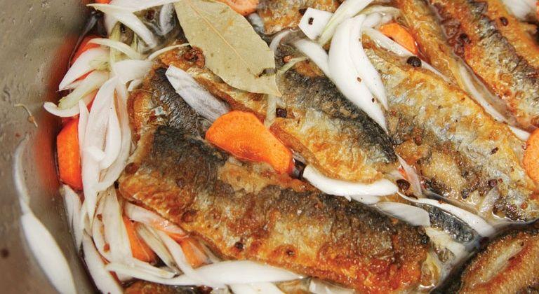 Fried Pickled Herring Herring Recipes European Cuisine Nordic Recipe
