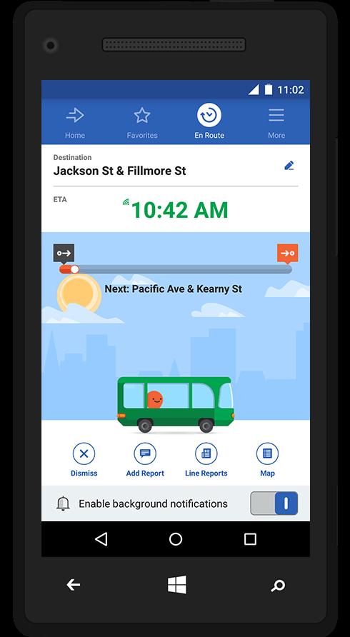 Ride public transportation smarter with Moovit transit app