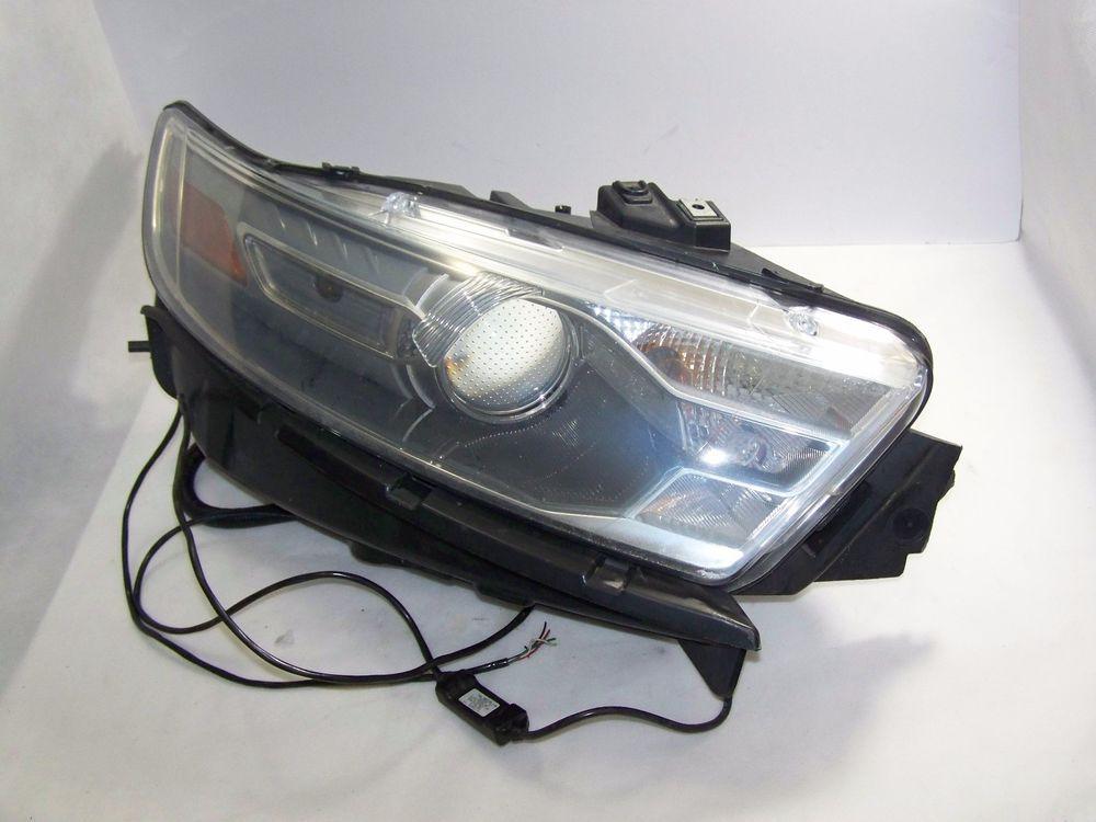 2013 2015 Ford Taurus Headlight Headlamp Rh Halogen Oem Ford