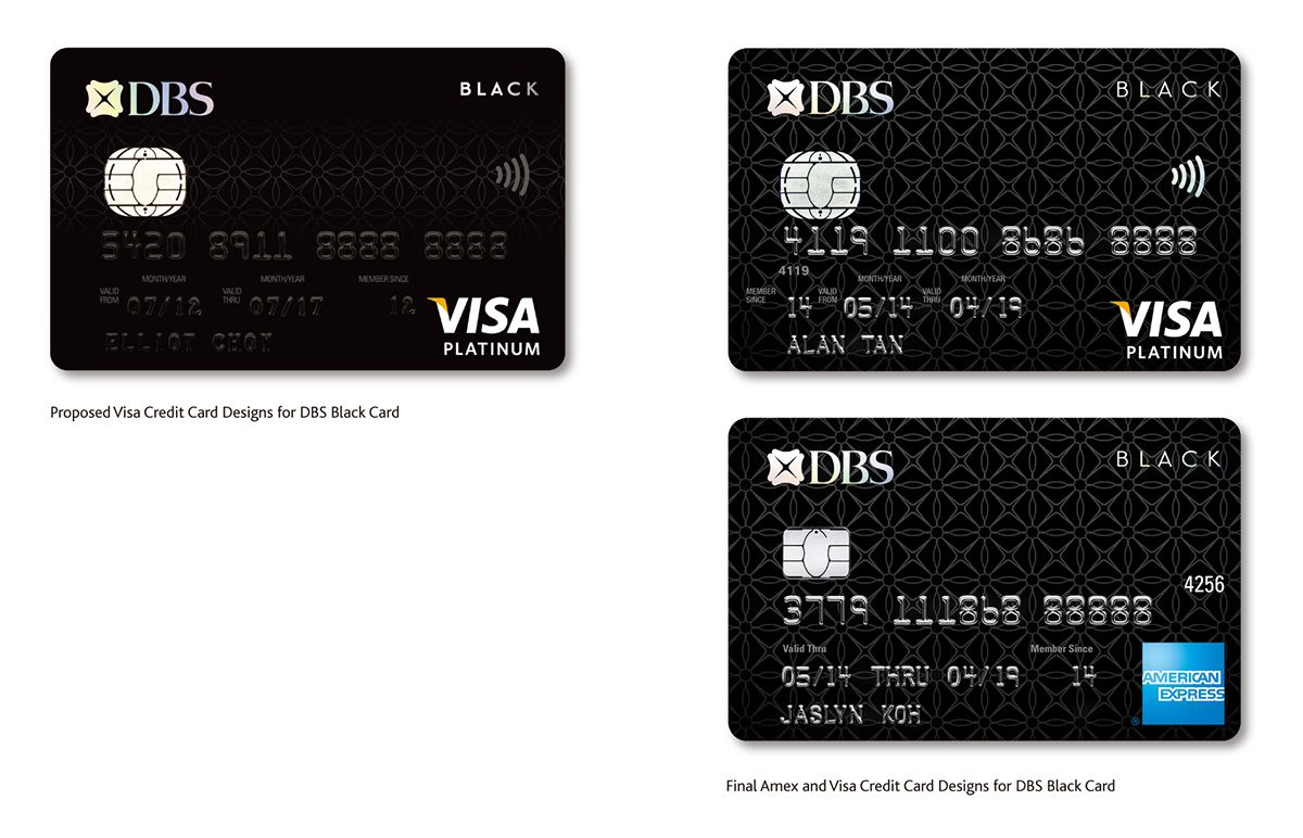 Dbs Credit And Debit Cards On Behance Final Platinum