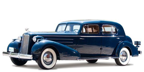Cadillac V16 Town Sedan By Fleetwood 5733S 1936
