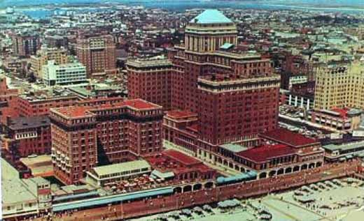 Atlantic City Historic Hotels The Chalfonte And Haddon Hall Hotels In The 1960s Atlantic City Atlantic City Boardwalk Nj Beaches