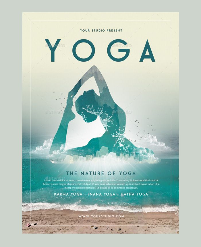 Image Result For Yoga Poster Templates  Yoga    Yoga
