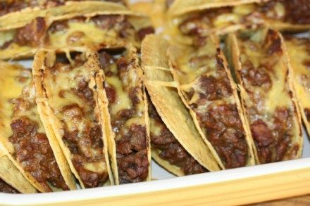 Oven Baked Tacos...