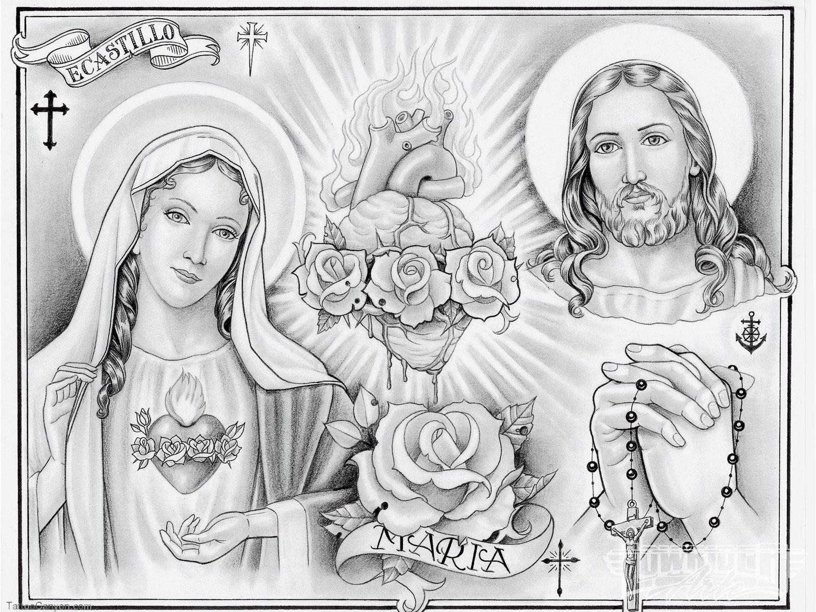 Christ jesus tattoo art photo 2 prison art jesus