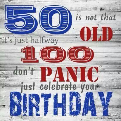 New 50 jaar. | 50 jaar - Verjaardag citaten, Verjaardag en Verjaardag @SF15