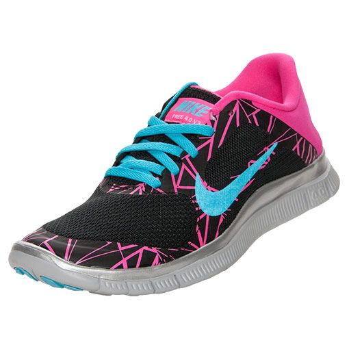 Womens Nike Free 4.0 V3 Print Running Shoes