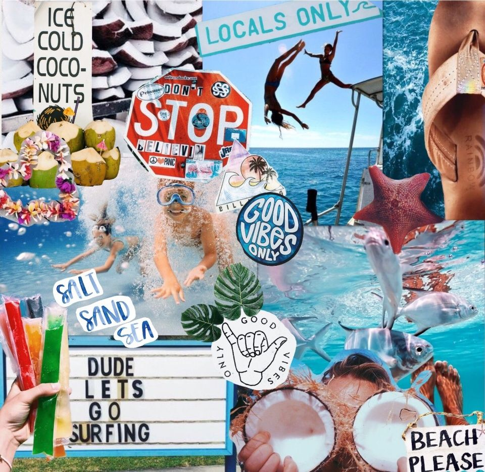 Vsco Gabstewi13 Summer Aesthetic Collage Collage