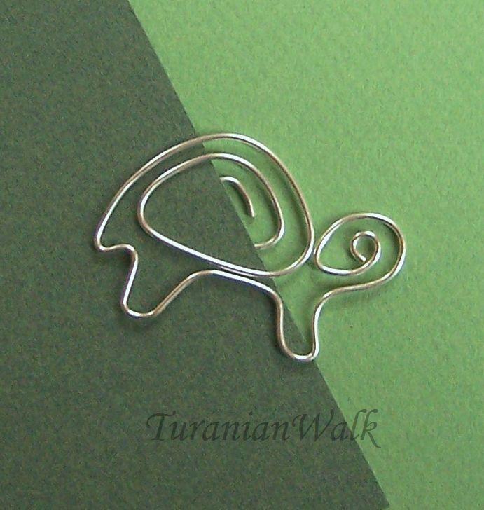 turtle wire bookmark schildkr ten pinterest. Black Bedroom Furniture Sets. Home Design Ideas