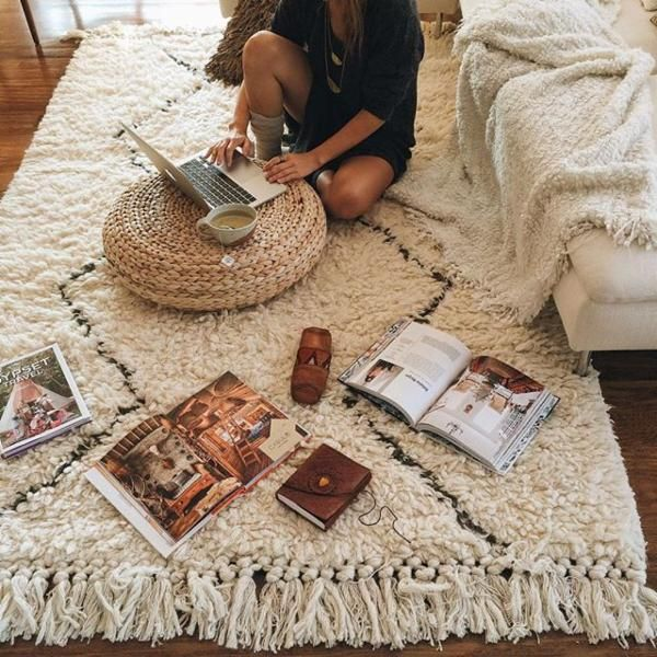 Classic Rug Pad Cozy Bedroom Decor Rugs