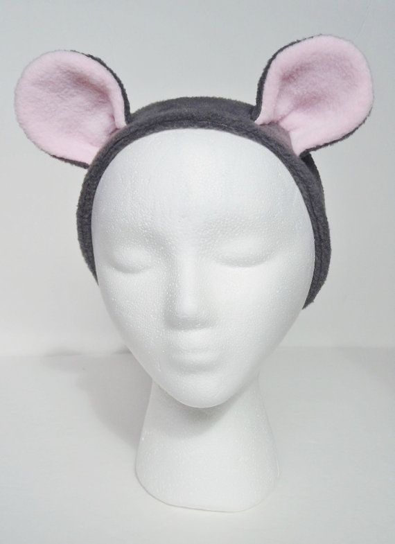 Mouse Ear Inspired Kawaii Ear Warmer Headband Hat by TheLuxuryLine ...