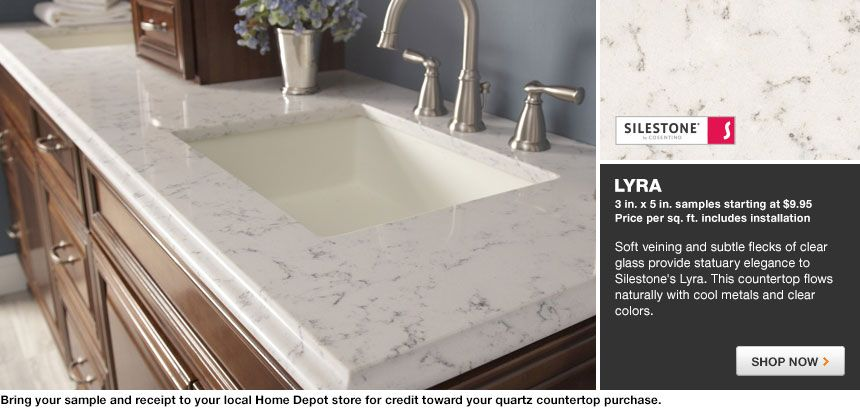 Lagoon Quartz Countertops Silestone Quartz Countertop In