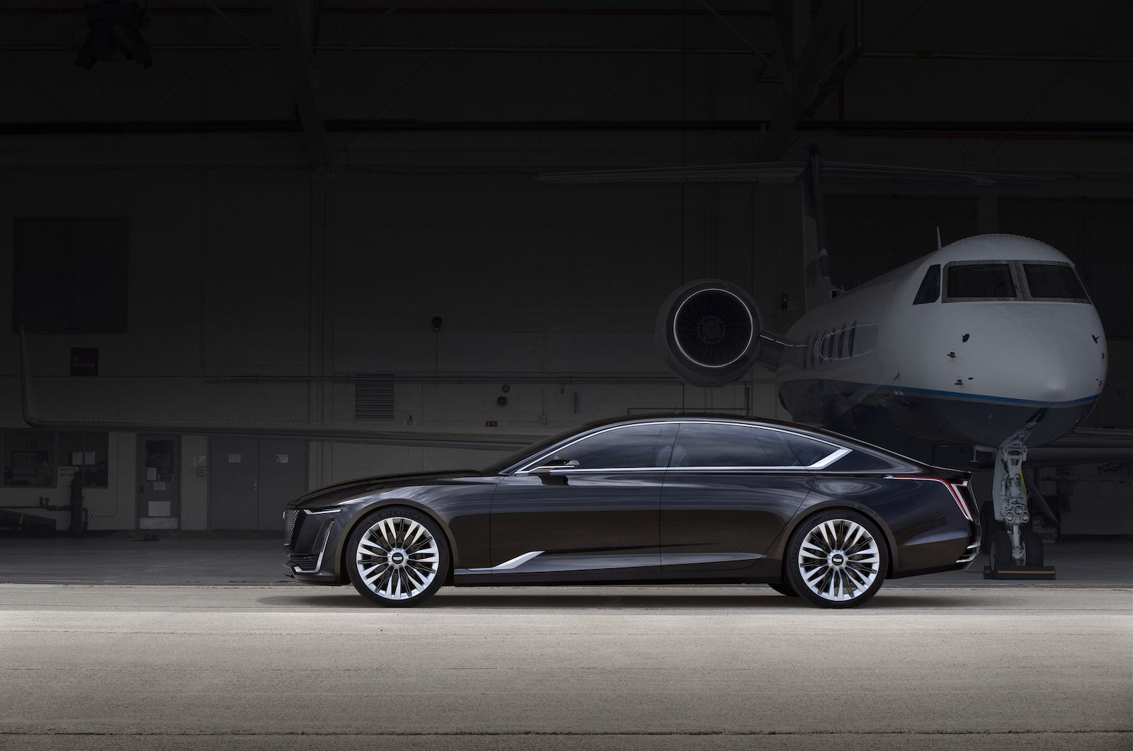 Cadillac's Escala Concept Is A Sharp Dressed Luxo-Barge