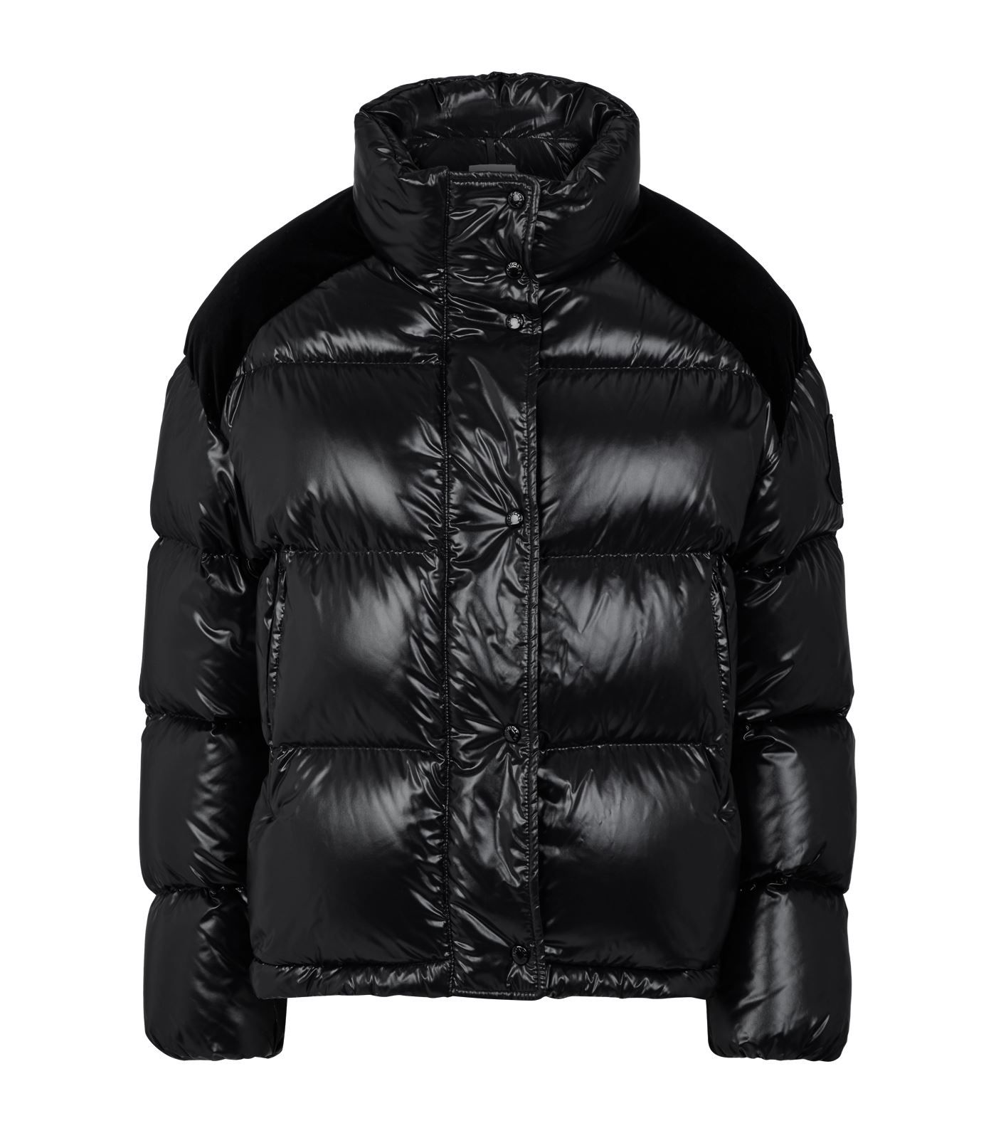 Chouette Padded Down Jacket Moncler, Jackets, Black