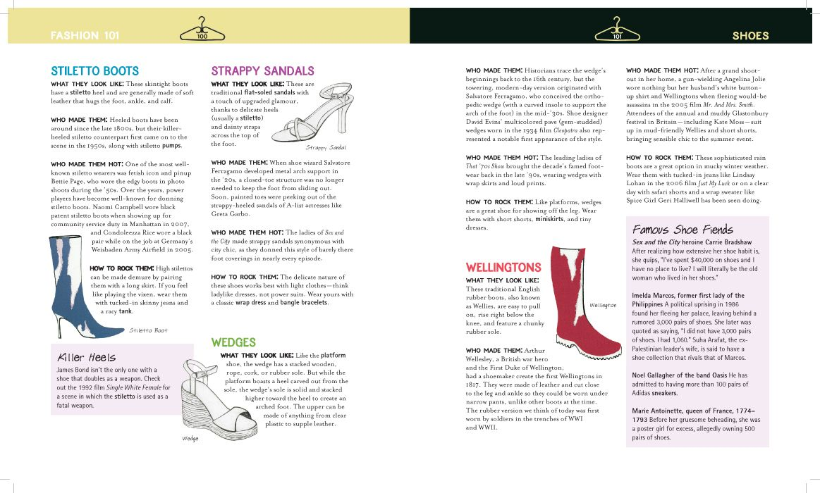 Slip On A New Pair Of Shoes For Back To School From Fashion 101 A Crash Course In Clothing By Erika Stalder Fashion 101 Stiletto Boots Current Fashion Trends