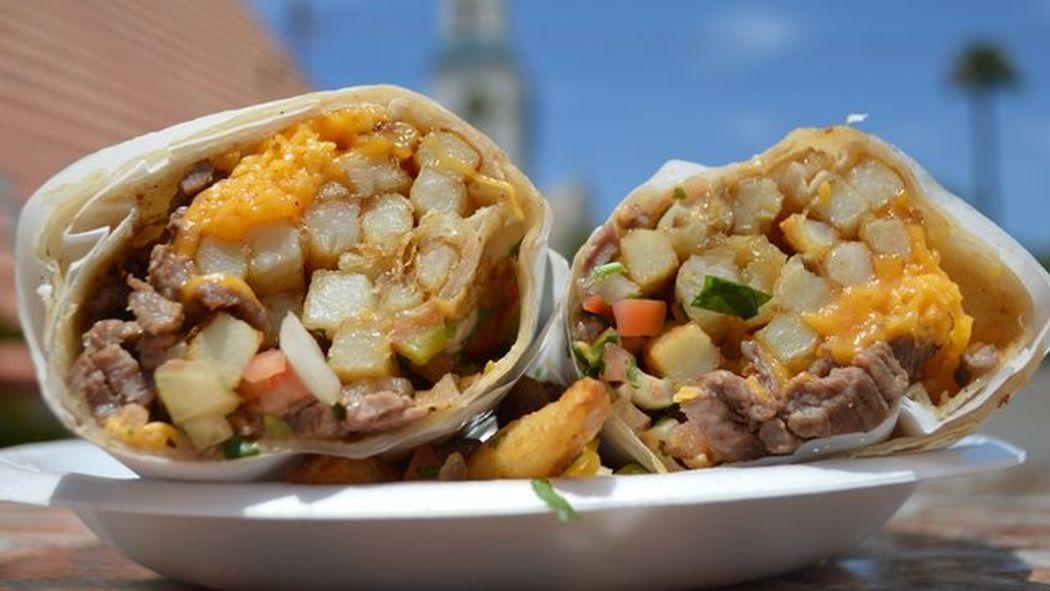 12 Of The Most Epic Breakfast Burritos In San Diego California Burrito California Food Best Breakfast Burritos