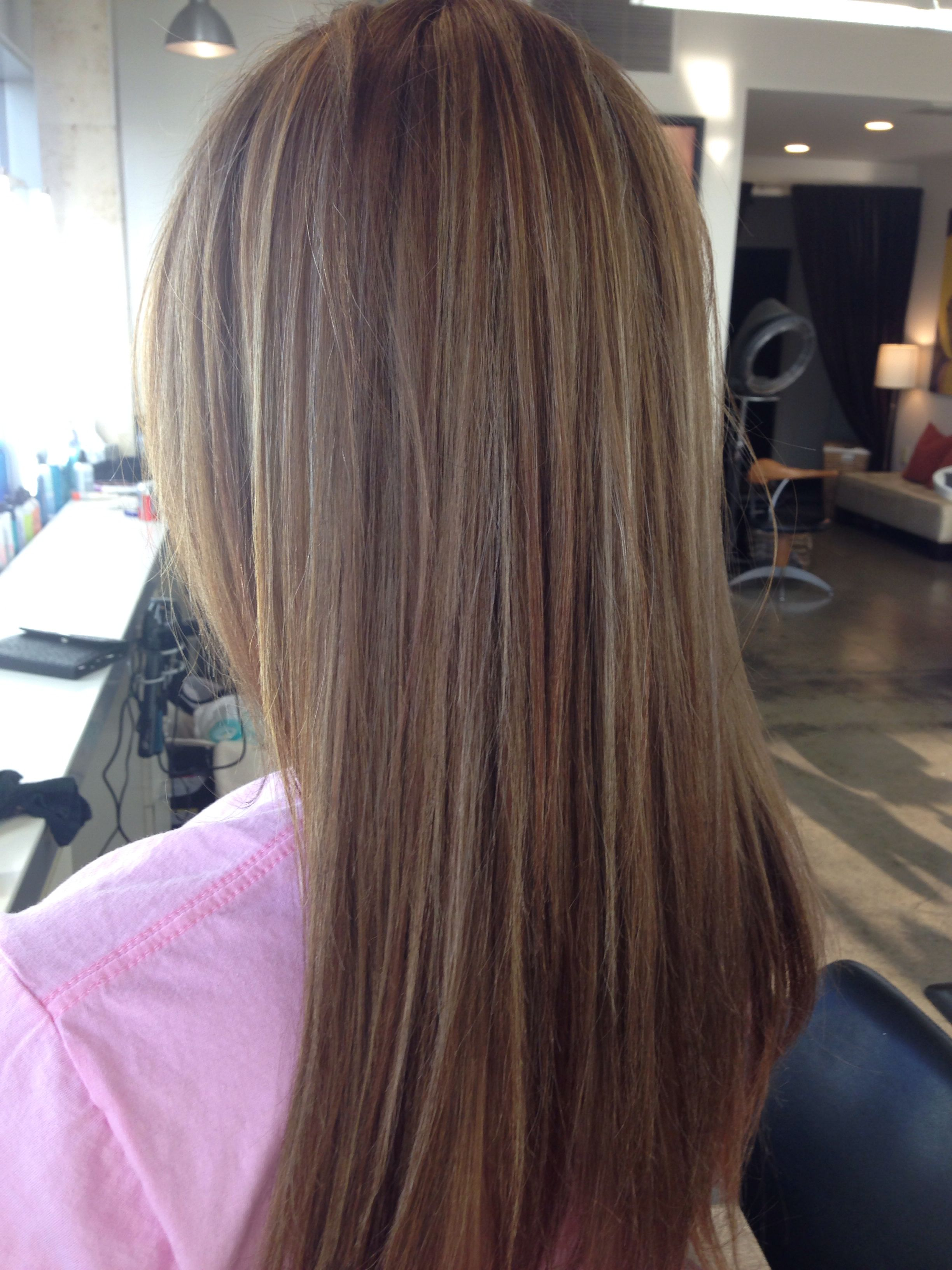 Brown hair with blonde highlights beauty pinterest brown hair