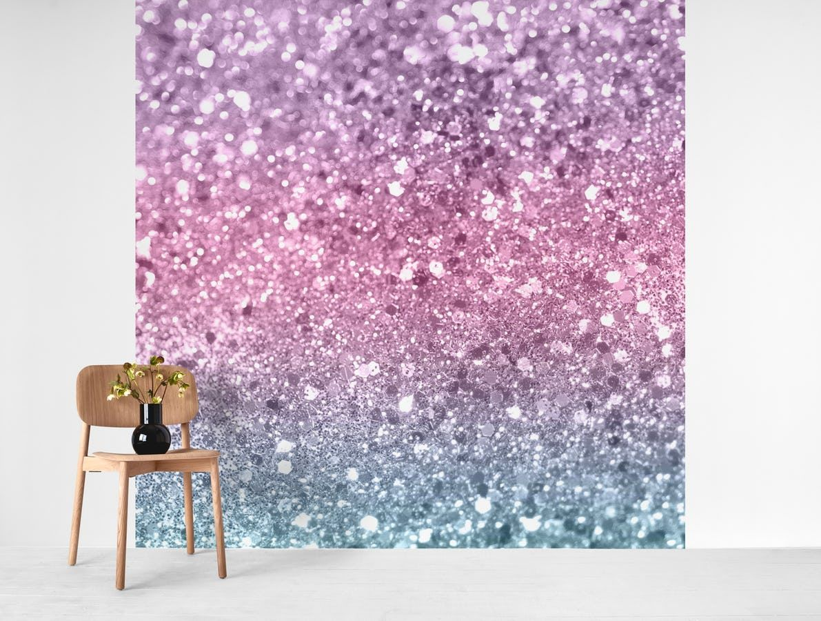 Best Unicorn Girls Glitter 5 Wall Mural With Images 400 x 300