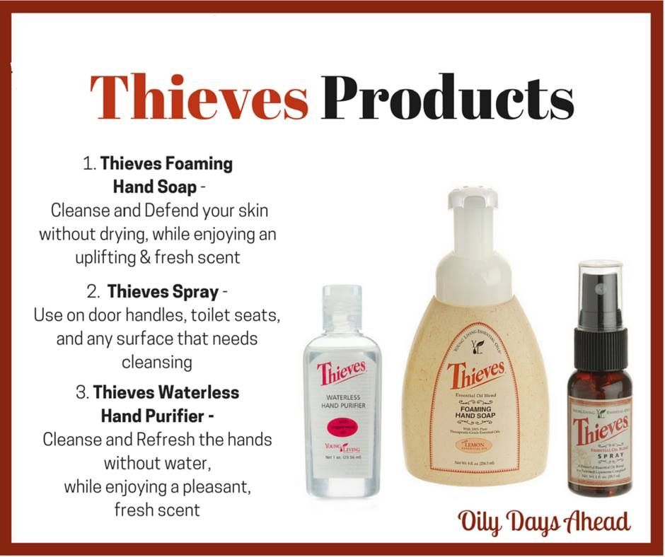 Thieves Foaming Hand Soap Makes It Easy To Lather Rinse And Get