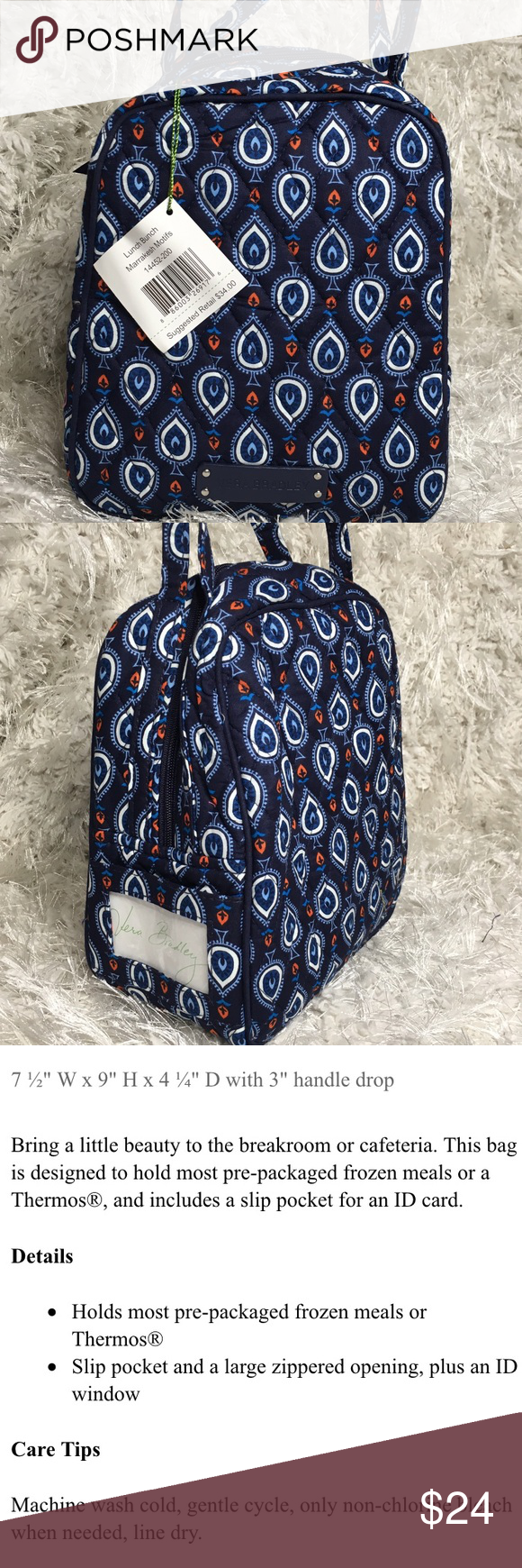 Vera Bradley Lunch Bunch Baby Bottles Bag Brand new, never used, with  retail tag dd6a4433c3