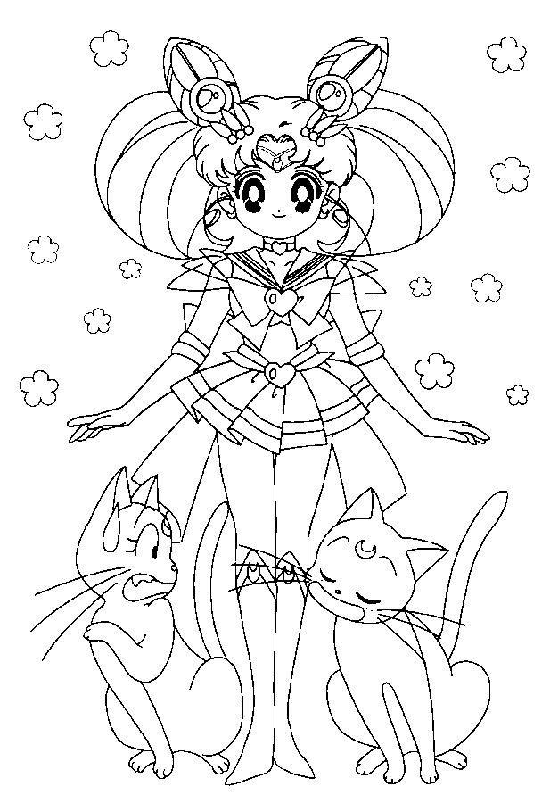 Coloriage Pour Enfant Sailor Moon Coloriage Pour Enfant Est Un