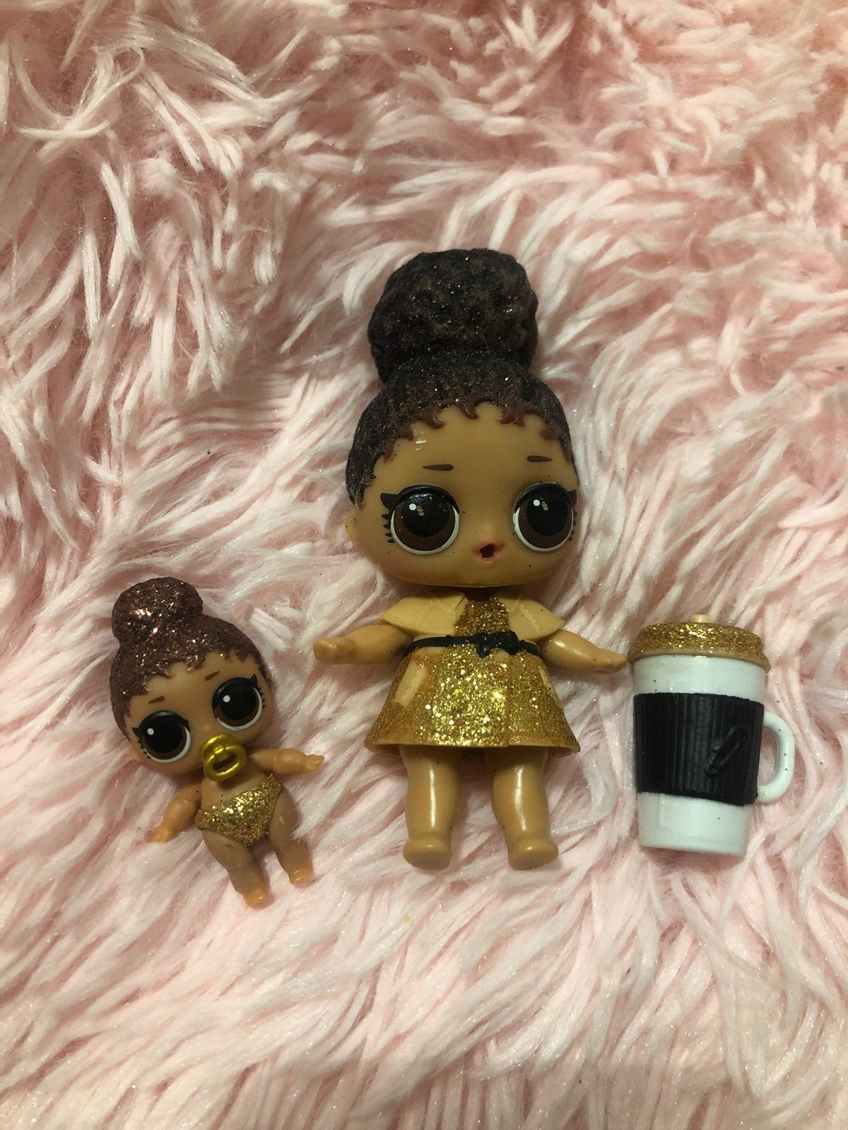 LOL Surprise Sparkle Series Snuggle Babe Baby Doll Sealed in Ball w// Accessories