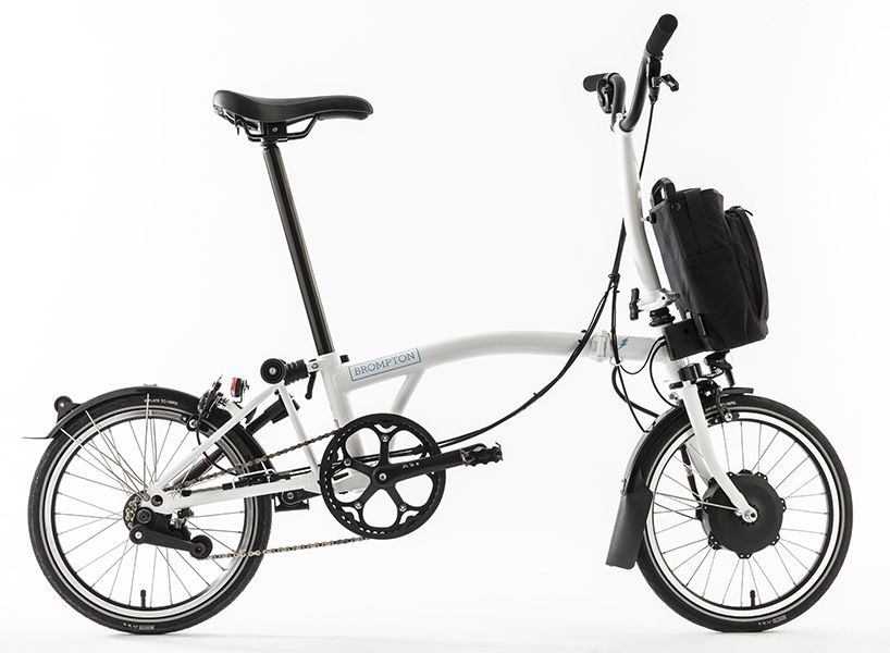 Brompton Electric Bicycle Fuses Folding Ability With Portable Battery Folding Electric Bike Folding Bike Bicycle