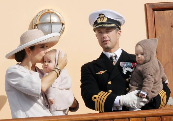 Second Day Of Royal Summer Tour Of Crownprince Frederik And