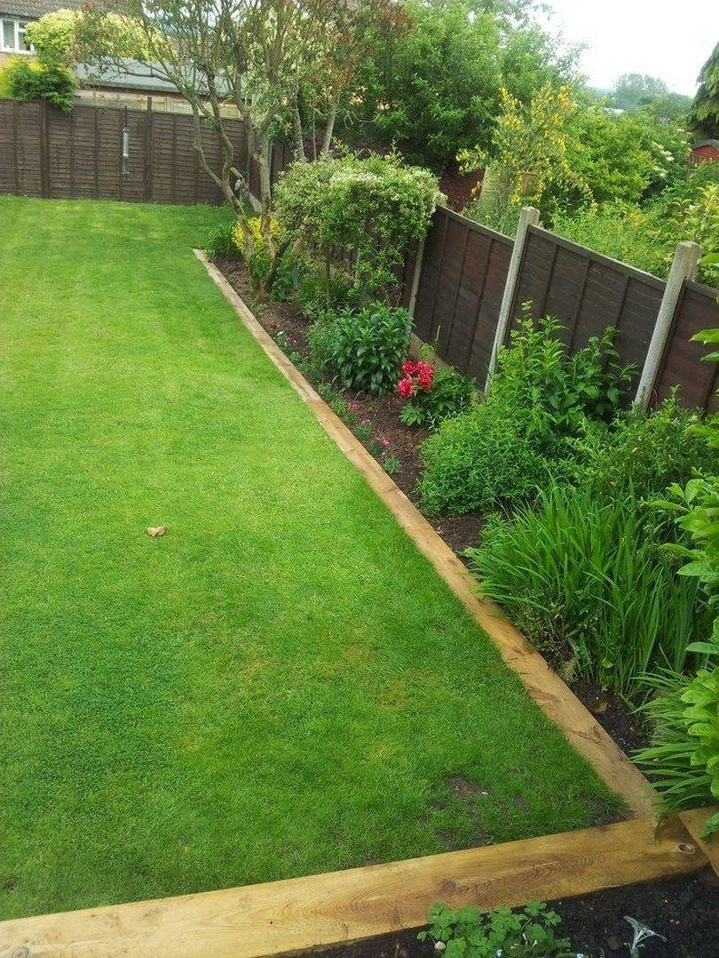 28 Stunning Vegetable Backyard For Garden Ideas That You Must Can Do It Vegetablebackyarideas Bac Garden Landscaping Diy Wooden Garden Edging Backyard Garden