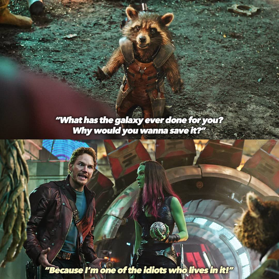 "MARVEL on Instagram: ""Favorite Phase 2 movie? 😂 —— 「Guardians of the Galaxy」 • • • • • #marvel #mcu #marvelcinematicuniverse #ironman #captainamerica #thor #hulk…"""