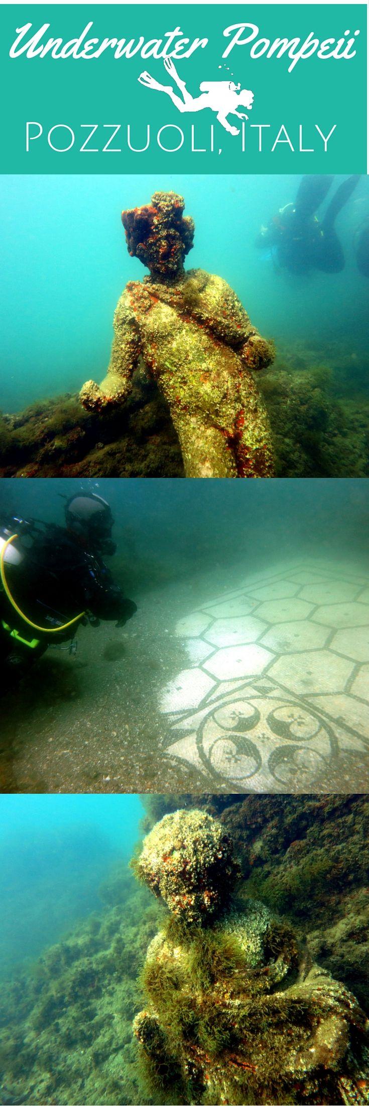 Dive In History: Underwater Pompeii In Pozzuoli, Italy