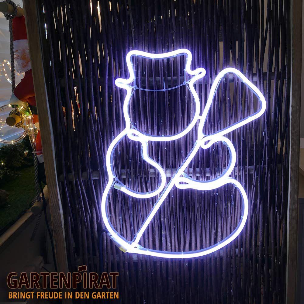 beleuchtete weihnachtsfigur schneemann als. Black Bedroom Furniture Sets. Home Design Ideas