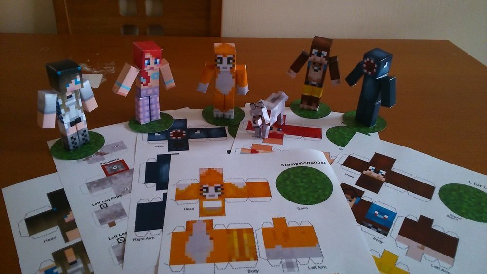 Stampylongnose Head Minecraft