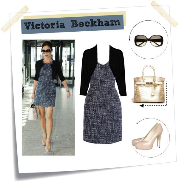 """""""Victoria Beckham ''"""" by pingpling ❤ liked on Polyvore"""