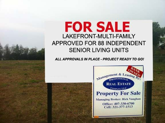 #Land for Sale!!!! Multifamily to the right #investor or developer. Call Rick Vaughan for details. 407-330-6700