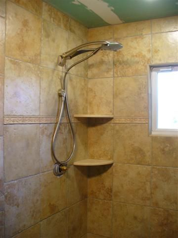 Shower Corner Shelf Ceramic Tile Advice Forums John Bridge
