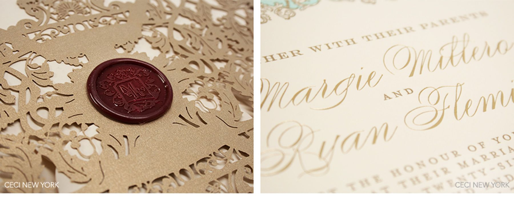 Luxury Wedding Invitations by Ceci New York Luxurious Lake Como