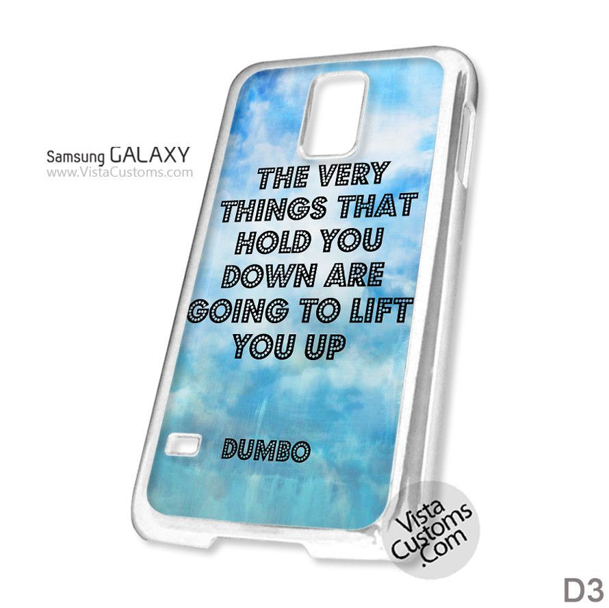 Dumbo Quotes Prepossessing Dumbo Quotes Disney Wisdom Phone Case For Apple Iphone 4 4S 5