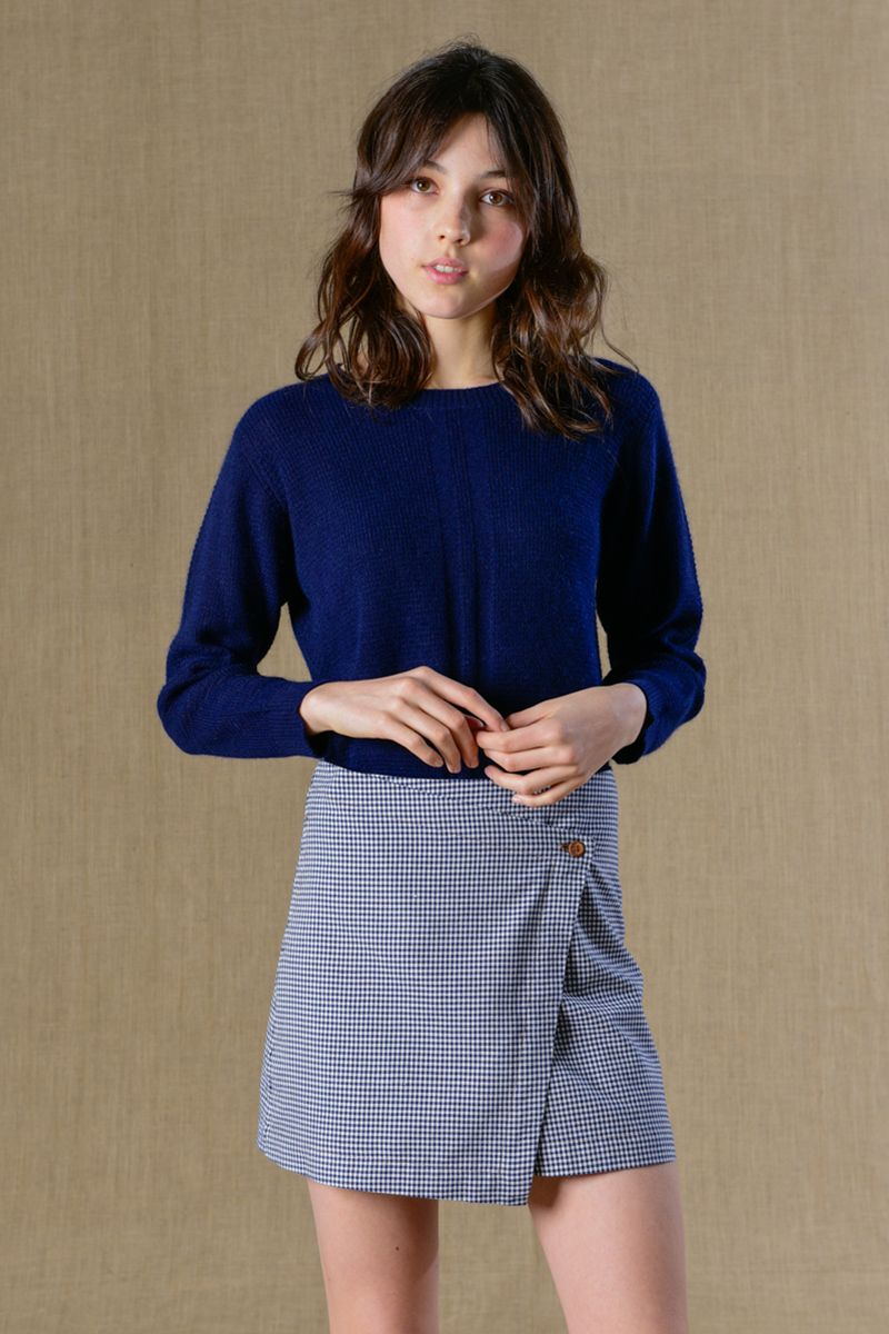c84426d06d98b2 Pin by Mathilde Dewulf on Les jolis vêtements | Jupe portefeuille, Jupe  plissée, Jupe