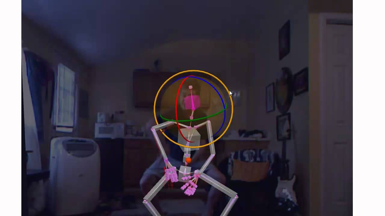 Animating Heads, Hands and Fingers with FREE Kinect Mocap
