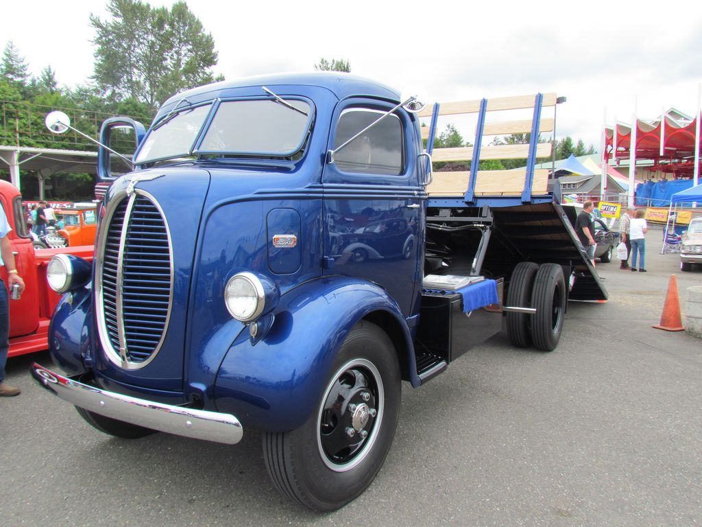 47 Ford COE \'car hauler\' | Ford, Cars and Biggest truck