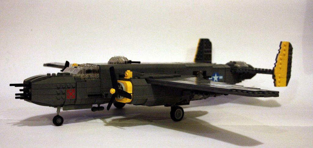 B-25 J nose profile   Lego   Fighter jets, Lego, Landing gear