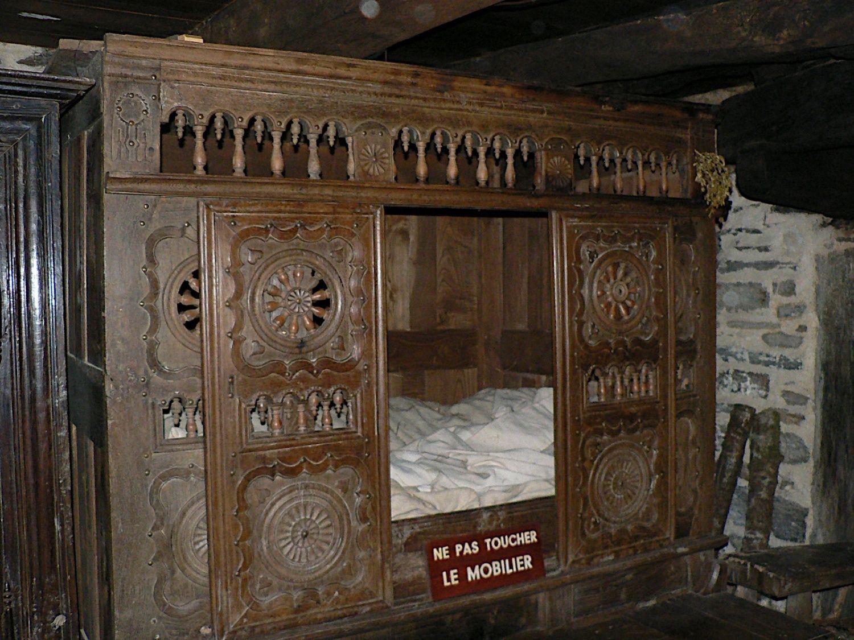 a u0027lit clos u0027 a bed in a cupboard longhouse plans pinterest