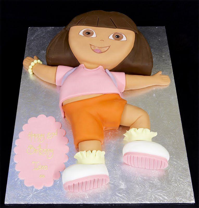 Dora The Explorer Cake Recipe With Easy Instruction At